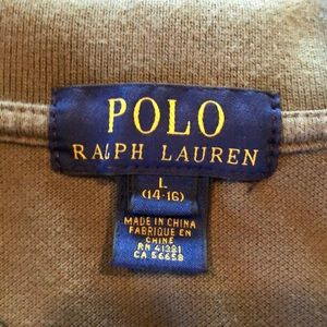 Ralph Lauren Shirts & Tops - Boys Ralph Lauren Long Sleeve Polo